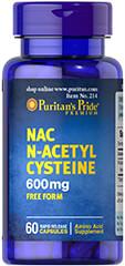 NAC 600 mg (N-Acetyl Cysteine)