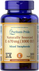Vitamin E-1000 IU Mixed Tocopherols Natural