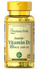 Vitamin D3 10 mcg (400 IU)