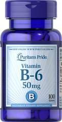 Vitamin B-6 (Pyridoxine Hydrochloride) 50 mg