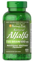 Natural Alfalfa 500 mg