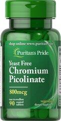 Chromium Picolinate 800 mcg Yeast Free