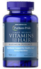 Vitamins for the Hair Timed Release