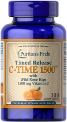 Vitamin C-1500 mg with Rose Hips Timed Release