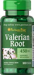 Valerian Root 450 mg