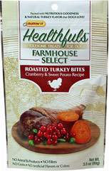 Healthfuls Farmhouse Select Roasted Turkey, Cranberry & Sweet Potato Bites for Dogs