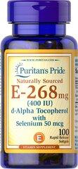 Vitamin E-with Selenium 400 IU Natural
