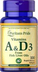 Vitamins A & D 5000/400 IU