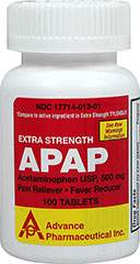 Non-Aspirin Pain Reliever 500 mg