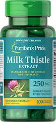 Milk Thistle Extract 250 mg