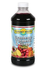 Cranberry, Turmeric & Ginger Tonic