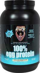 100% Egg Protein Vanilla Ice Cream