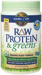 Raw Protein & Greens Vanilla