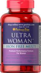 Ultra Women™ Daily Multi Iron Free Timed Release