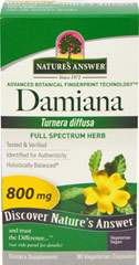 Damiana 800 mg per serving