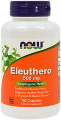 Eleuthero Root 500 mg