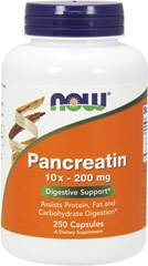 Pancreatin 10x 200 mg