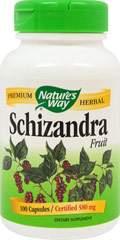 Schizandra Fruit 580 mg