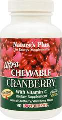 Ultra Chewable Cranberry with Vitamin C