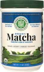 Organic Matcha + Brown Rice Solids
