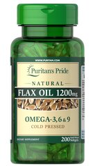 Natural Flax Oil 1200 mg