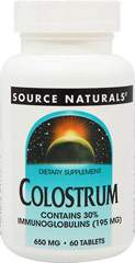 Colostrum 650 mg 30% Immunoglobulins