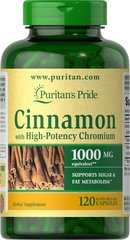 Cinnamon Complex with High Potency Chromium