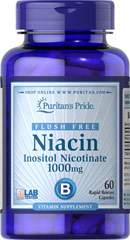 Flush Free Niacin Inositol Nicotinate 1000 mg
