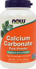 Calcium Carbonate Powder, Pure 12 oz