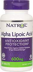 Alpha Lipoic Acid 600 mg + Calcium Time Release