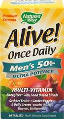 Alive!® Once Daily Men's 50+ Ultra Potency Multi Vitamin