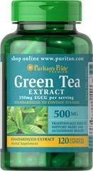 Green Tea Standardized Extract 500 mg