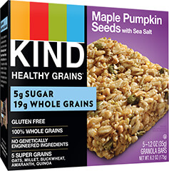 KIND Healthy Grains Maple Pumpkin Seeds