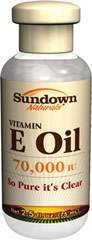 Sundown Naturals Pure Vitamin E-Oil 70,000 IU