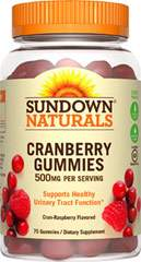 Sundown Naturals Cranberry Gummies 500 mg