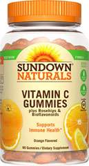 Sundown Naturals Vitamin C Gummies