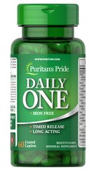 Puritan's Pride One™ Multivitamins Iron Free Timed Release