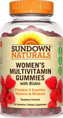 Sundown Naturals Women's Multivitamin Gummies with Biotin