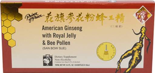 American Ginseng with Royal Jelly & Bee Pollen