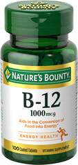 Nature's Bounty® Vitamin B-12