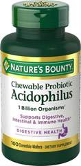 Nature's Bounty Acidophilus Strawberry