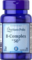 Vitamin B-50 Complex 50 mg Kosher