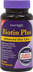 Biotin Plus with Lutein