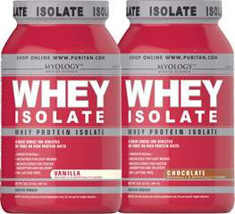 Whey Isolate Protein Bundle - Chocolate & Vanilla