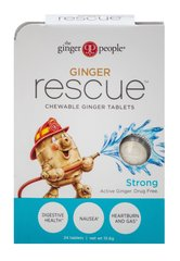 Ginger Rescue Strong Chewable Tablets