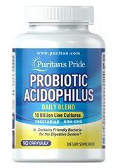 Probiotic Acidophilus Daily Blend 10 Billion Active Cultures
