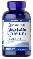 Absorbable Calcium Plus Vitamin D-3