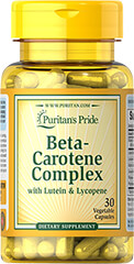 Beta-Carotene Complex with Lutein & Lycopene