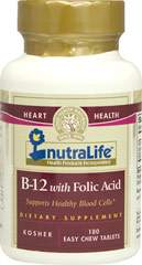 B-12 with Folic Acid