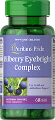 Bilberry Eyebright Complex with Zinc